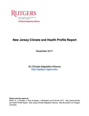 NJ Climate and Health Report