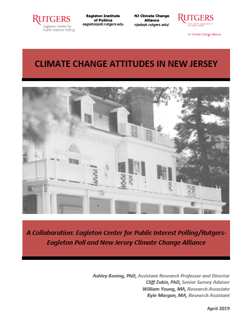 Rutgers Eagleton Poll-Climate Change Attitudes in New Jersey