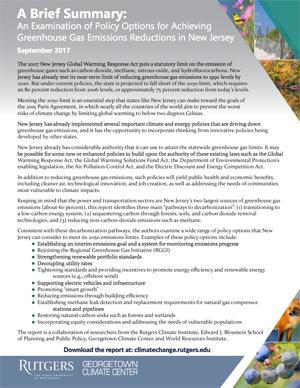 Greenhouse Gas Report-Summary