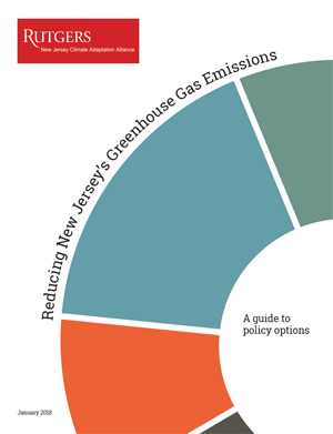 Greenhouse gas emissions infographic cover