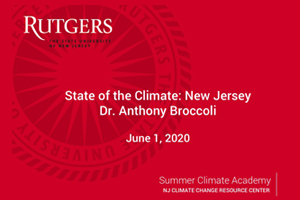 State of the Climate-NJ