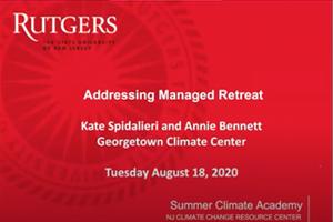 Addressing Managed Retreat