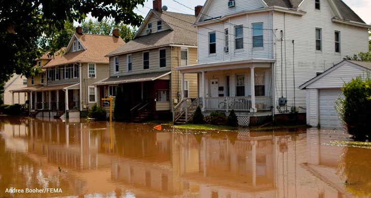 Bound Brook flooded after Hurricane Irene
