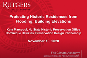 Protecting Historic Residences