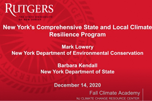 NY Climate Resilience