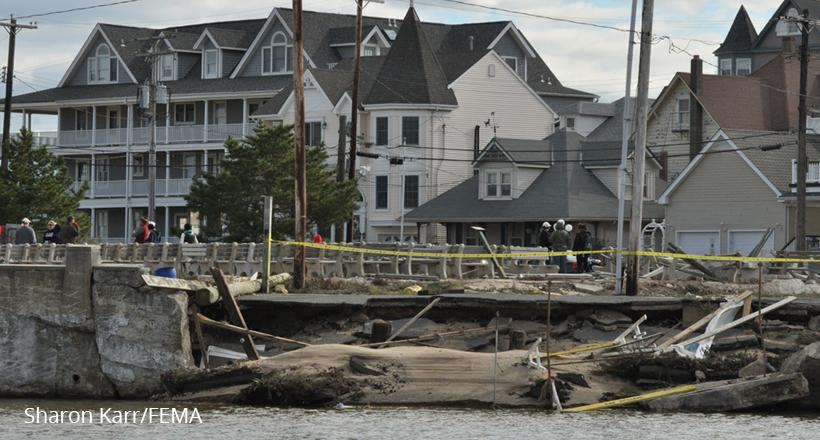Ocean Grove storm damage