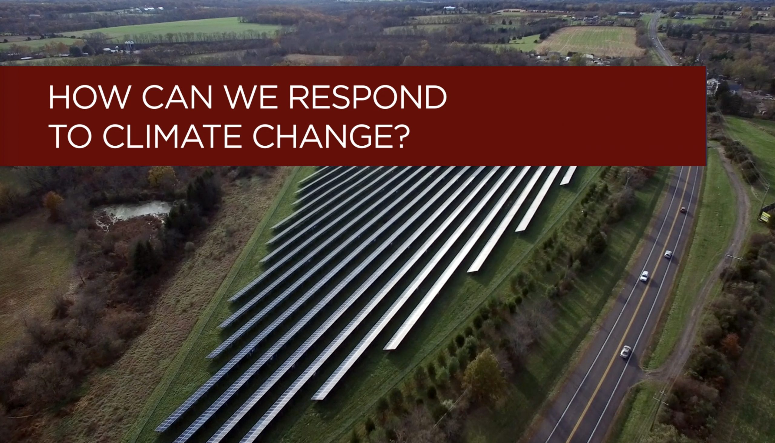 How Can We Respond to Climate Change