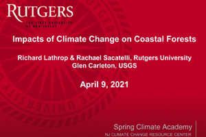 Spring Climate Academy: Impacts of climate change on coastal forests