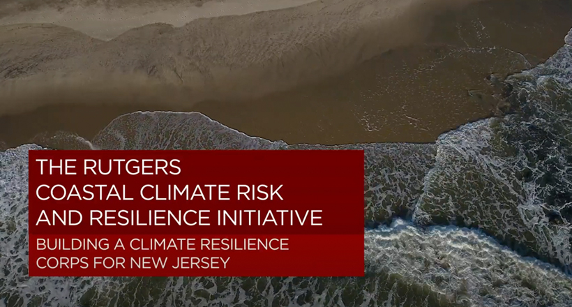 Rutgers Coastal Climate Resilience Corps