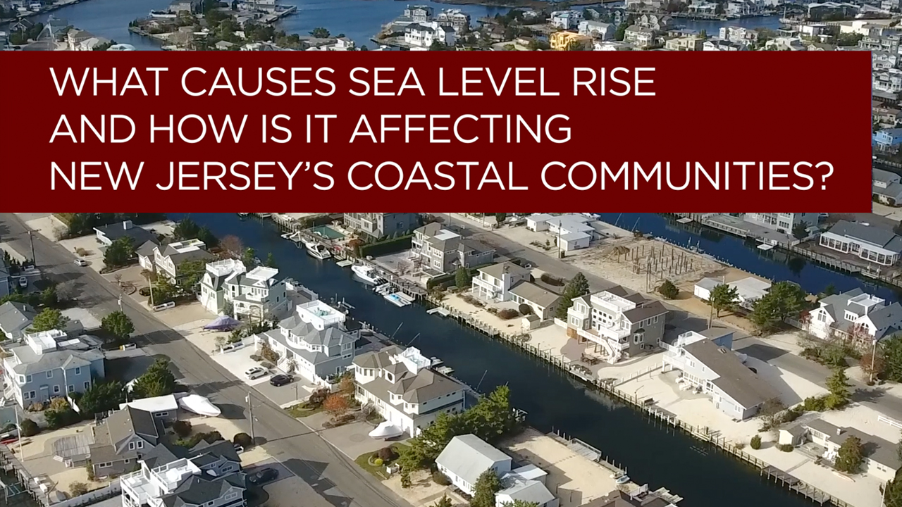 What Causes Sea Level Rise and How Is It Affecting NJ Coastal Communities