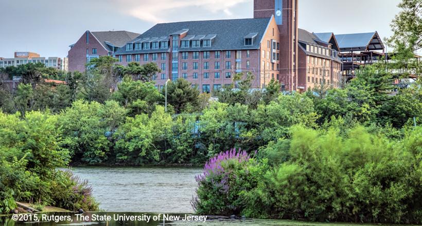 Rutgers Honors College on Raritan River