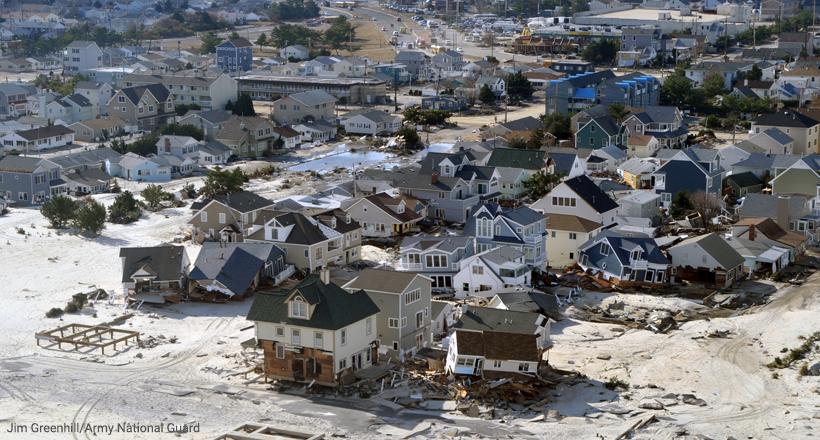 Sandy damage, Jersey Shore