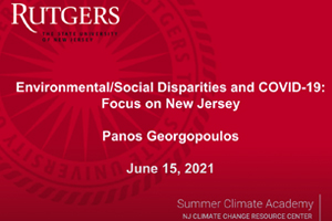 Climate Change and COVID-19