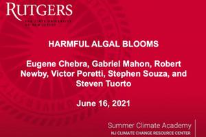 Harmful Algal Blooms