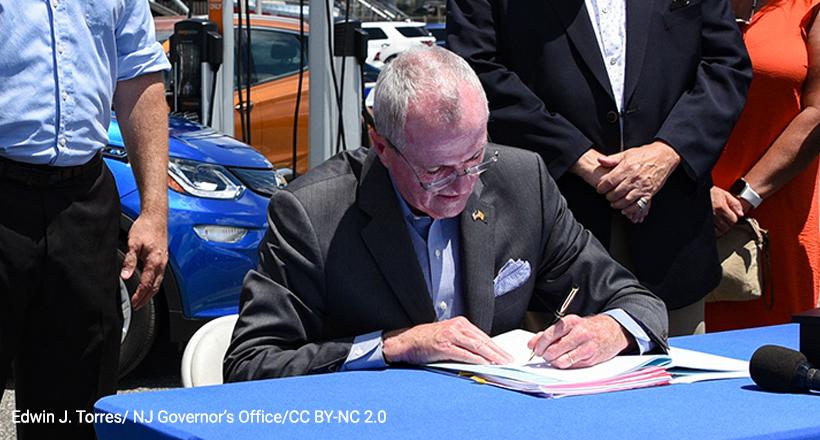 Gov Phil Murphy signs clean energy bill