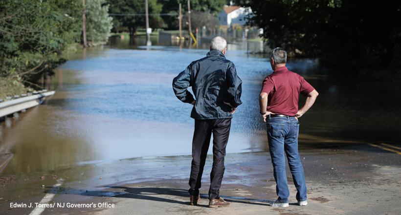Gov Murphy tours Ida storm damage in Hillsborough