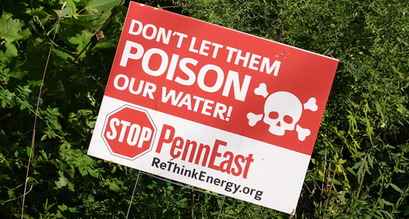 Stop PennEast sign